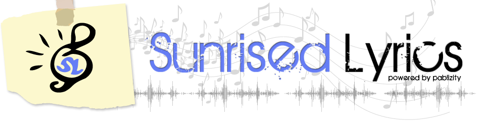 Sunrised Lyrics Logo
